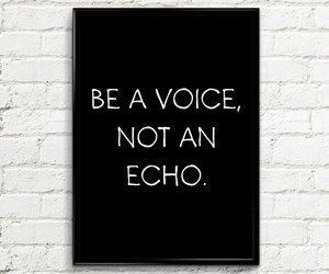 quote and voice image