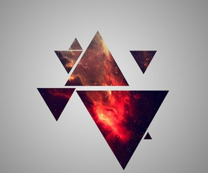 triangle, wallpaper, and hipster image