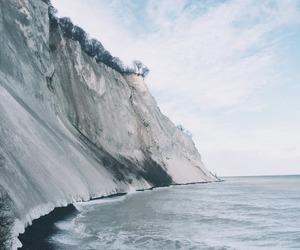 sea, beautiful, and cliff image