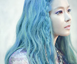 blue and kpop image