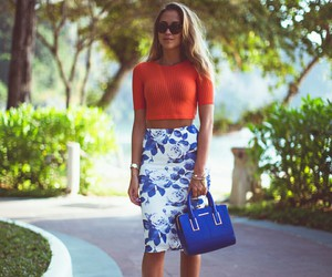 kenza, crop top, and style image