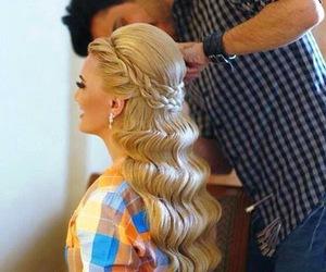 fashion, hairstyle, and tutorialsh image