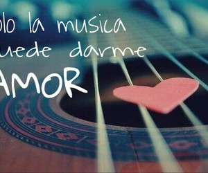 amor, frases, and guitarra image