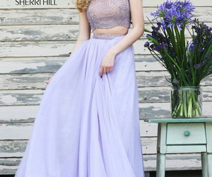 sherri hill 11220 and lilac image