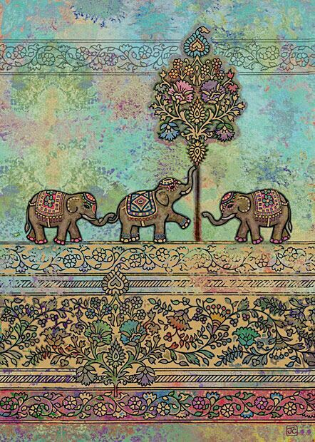 Indian Elephants Discovered By Aida Gomez On We Heart It