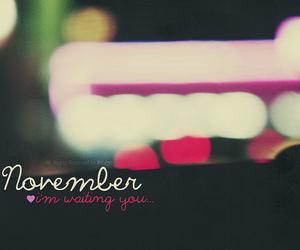 november, photography, and waiting image