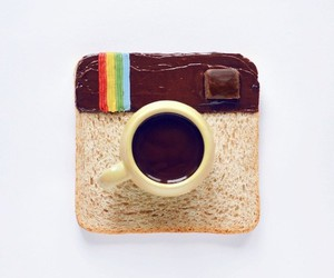 instagram, food, and chocolate image