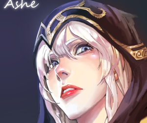 ashe and league of legends image