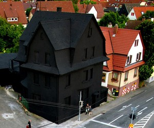 black, house, and dark image