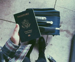 grunge, outfit, and passport image