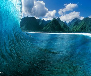 reef, surf, and waves image