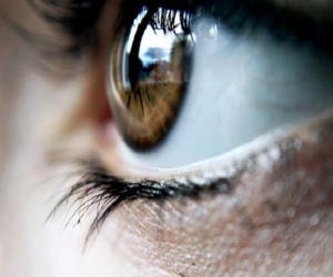 blue, brown, and green eye image