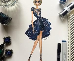 fashion, art, and draw image