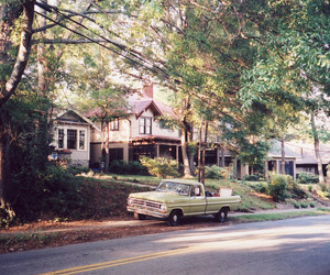 film, olympus xa, and candler park image