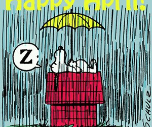 april, snoopy, and funny image