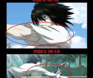 death note, anime, and funny image