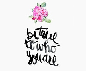 quote, flowers, and text image
