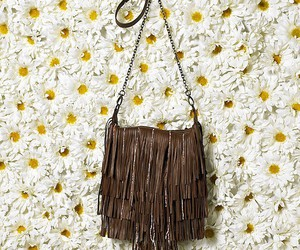 accessories, bag, and daisy image