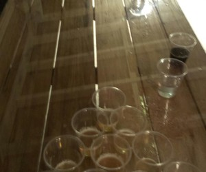 alkohol, beer, and beer pong image
