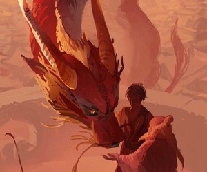 zuko, avatar, and dragon image