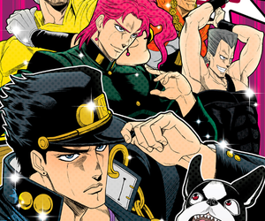 anime, Iggy, and jjba image
