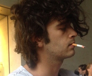 matty healy, the 1975, and cigarette image