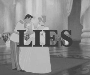 lies, cinderella, and disney image