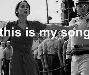song, funny, and hunger games image