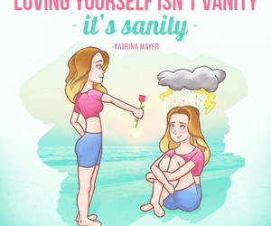 care, fit, and selflove image
