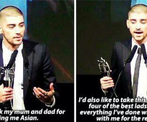 zayn malik, one direction, and asian awards image