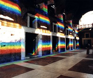 art, light, and prism image