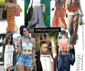 hippie, style, and vanessa hudgens image