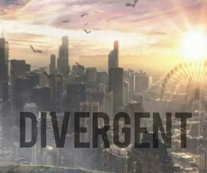 book, divergent, and veronica roth image