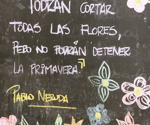 amor, flores, and poema image