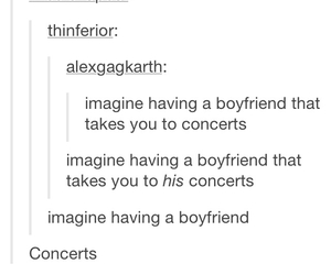 bands, boyfriend, and concert image