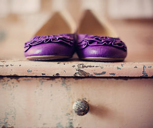 shoes and purple image