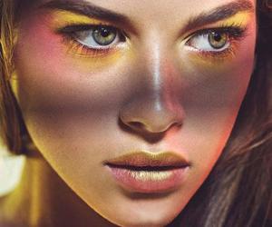 model and makeup image