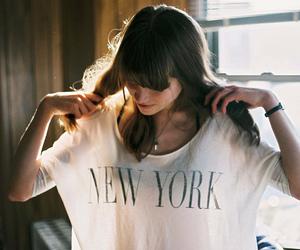 girl, new york, and shirt image