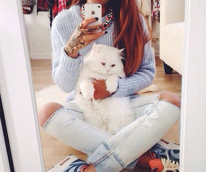 cat, fashion, and style image