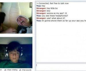funny, lol, and omegle image