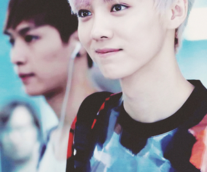 luhan, chinese, and exo image