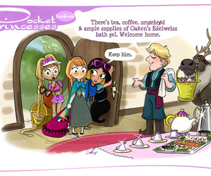 disney, rapunzel, and anna image