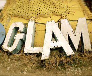 glam, typography, and letters image