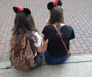 girls, disneyland, and tumblr image