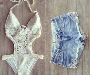 summer, fashion, and shorts image