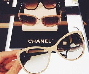 chanel, sunglasses, and luxury image