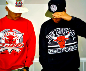 swag, boy, and chicago bulls image