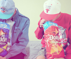 swag, boy, and doritos image