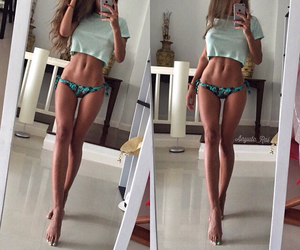 abs, fitness, and legs image