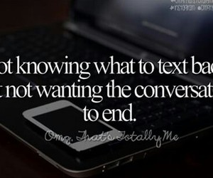 conversation, quote, and text image